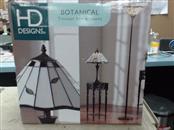 HD DESIGNS Light/Lamp BOTANICAL TIFFANY STYLE LAMPS